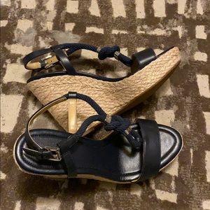 NWOT Michael Kors 'Holly' Espadrille Wedge Sandal